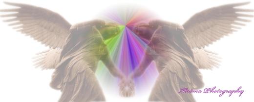 Kirima engelenlogo met tekst