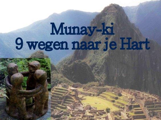 Munay-ki foto handboek